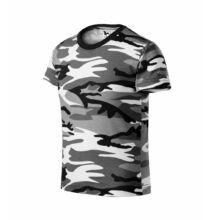 Camouflage Pólók gyerek, terepszín szürke