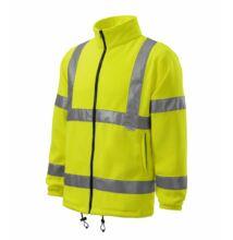 HV Fleece Jacket Polár unisex, fényvisszaverő sárga