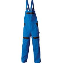 COOL TREND hosszított kantáros nadrág, királykék/fekete