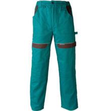COOL TREND Női hosszított nadrág, zöld/fekete