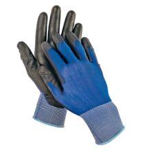 SMEW fekete kesztyű nylon-1 kék/fekete