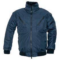 PILOT kabát, kék