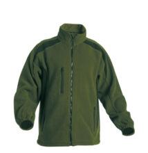 TENREC polár kabát zöld/fekete