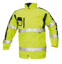 TRIPURA HV kabát 4n1, sárga