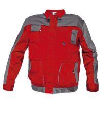 MAX EVO kabát, piros/szürke