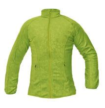 YOWIE női polár kabát, zöld