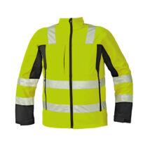 MALTON softshell kabát HV sárga