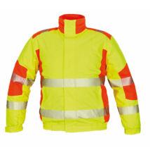 TRILA pilóta dzseki, sárga/narancssárga