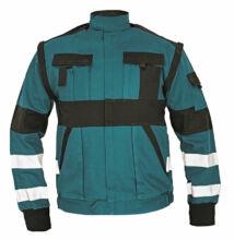 MAX REFLEX kabát, zöld/fekete