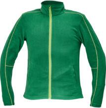 WESTOW fleece pulóver, zöld