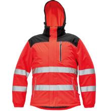 KNOXFIELD Hi-VIS téli dzseki, piros