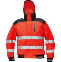 KNOXFIELD Hi-VIS pilóta dzseki, piros