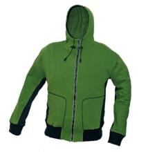STANMORE pulóver kapucnival, zöld