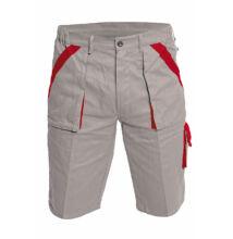 MAX rövidnadrág, szürke/piros