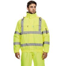 HOBSON HV téli pilot kabát, sárga