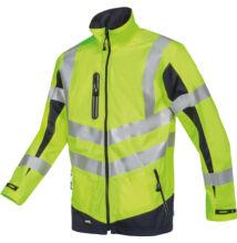 PENDI HV softshell dzseki, sárga/kék