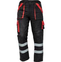 MAX RFLX téli nadrág, zöld/fekete