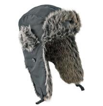 TILST téli füles sapka Usanka, fekete