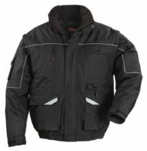 RIPSTOP 2/1 szakadásbiztos dzseki, fekete