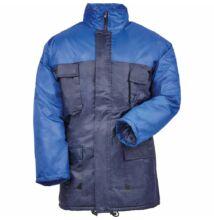 CONNEMARA bicolor vízhatlan télikabát, kék