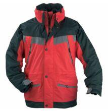 ICEBERG 3/1 kabát, piros/fekete