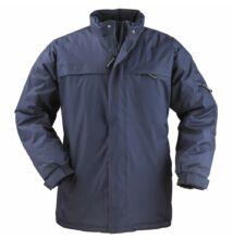 KABAN pe/pvc bélelt kabát, kék
