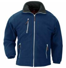 ANGARA kék cipzáros pulóver -XS
