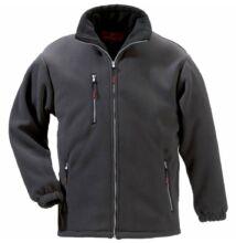 ANGARA szürke cipzáros pulóver -XS