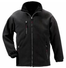 ANGARA fekete cipzáros pulóver -XS