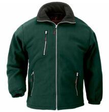 ANGARA zöld cipzáros pulóver -XS