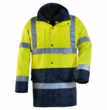 HI-WAY FLUO 4/1 pe kabát, sárga/kék