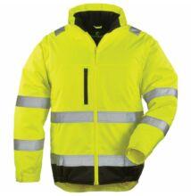 HI-WAY XTRA 2/1 kabát, sárga/fekete
