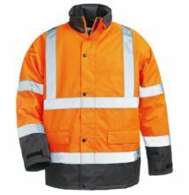 ROADWAY kabát, narancs/kék