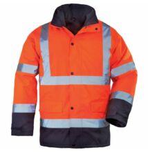 ROADWAY 4/1 FLUO kabát, narancs/kék