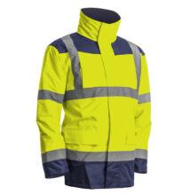Kanata Hi-Viz 4/1 PE kabát, sárga/kék