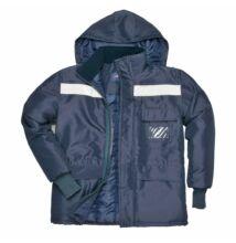 CS10 Hűtőházi kabát, sötétkék