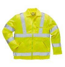 E040 Jól láthatósági dzseki, sárga