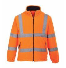 F300 Jól láthatósági polár pulóver, narancs