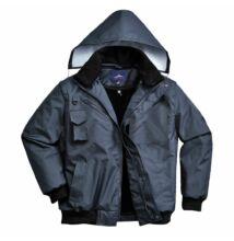 F465 3in1 Bomber kabát, sötétkék