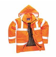 RT60 Jól láthatósági lélegző dzseki, narancs