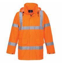 S160 Lite jól láthatósági kabát, narancs
