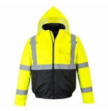 S363 Hi-Vis Value Bomber kabát