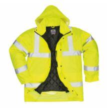 S420 Jól láthatósági kabát, sárga
