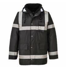 S433 Iona Lite kabát, fekete