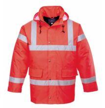 S460 Jól láthatósági kabát, piros