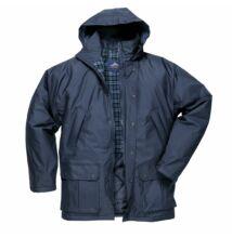 S521 Dundee bélelt kabát, sötétkék