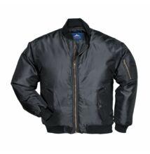 S535 Pilóta kabát, fekete