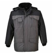 S562 Ripstop kéttónusú kabát, szürke/fekete