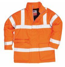 S778 Antisztatikus és lángálló kabát, narancs