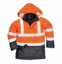 S779 Multi Protection antisztatikus és lángálló kabát, narancs/sötétkék